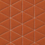 Quilted Canvas Rust