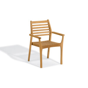 Mera Teak Stacking Armchair