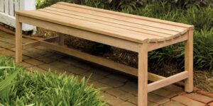 Seating - Backless Bench