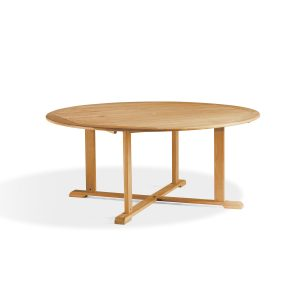 Oxford Teak 67″ Round Dining Table